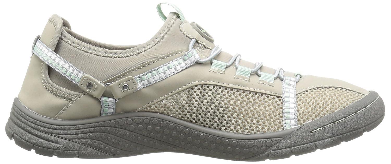 JSport by Jambu Women's Tahoe Encore Walking Shoe B01IFFGGYA 6.5 B(M) US Light Grey/Light Aqua