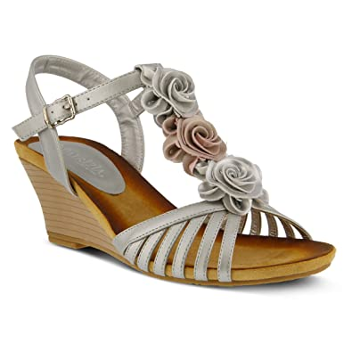 e20818751 Amazon.com  PATRIZIA Women s Fairquin Strap Sandals  Shoes