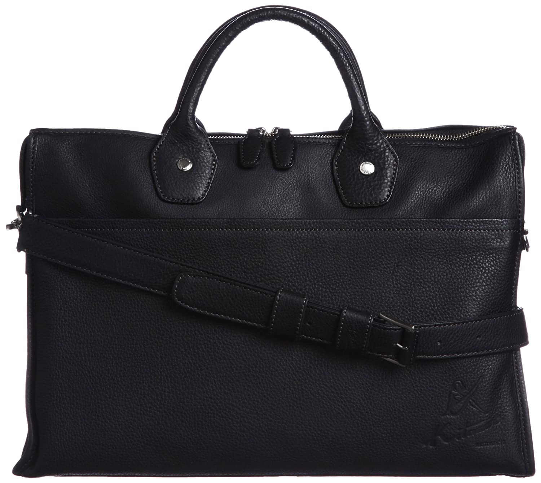 [キタムラ] ビジネスバッグ 2way Y-0682 B00EXDYS12 ブラック/グレーステッチ [黒] 15801 ブラック/グレーステッチ [黒] 15801