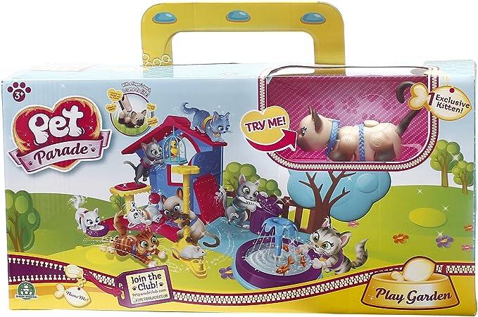 Pet Parade - Playset con 1 Gatito (Giochi Preziosi PTC02121): Amazon.es: Juguetes y juegos
