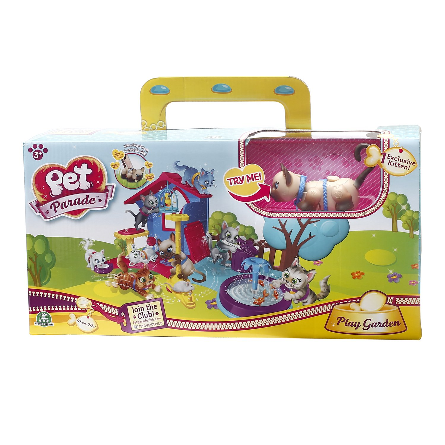 Pet Parade Play Garden Playset for Kittens