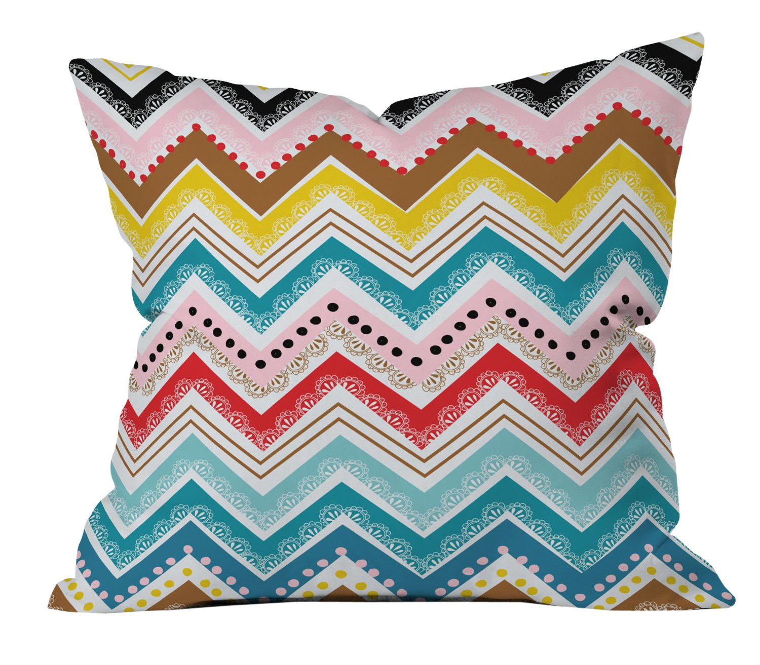 "Deny Designs Dash And Ash Strawberry Picnic Outdoor Throw Pillow,  20"" x 20"" - Transform your outdoor space into a stylish & inviting lounge! Deny Designs outdoor throw pillows are UV protected & mildew resistant Filled with a premium polyester and printed on the front & back with a sewn closure - patio, outdoor-throw-pillows, outdoor-decor - 81Y2 9cVc5L -"