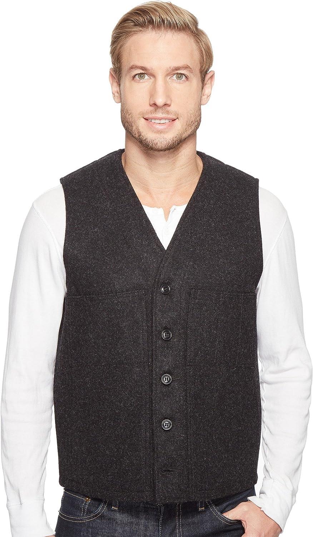 FilsonメンズMackinaw Wool Vest チャコールグレー XL
