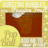 PopaBall Passion Fruit Bubbles 125g (Pack of 6)