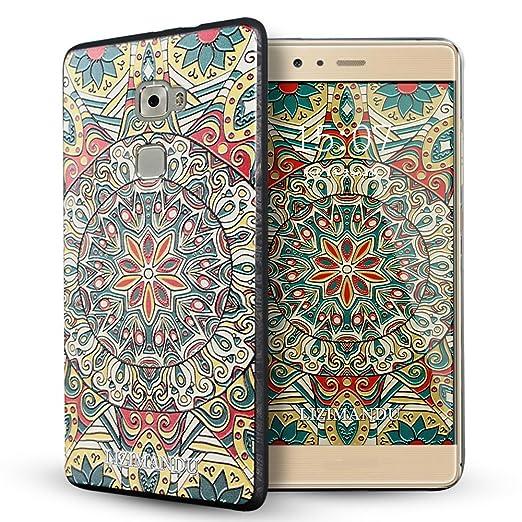 8 opinioni per Huawei Mate S Cover,Lizimandu Creative 3D Schema UltraSlim TPU Copertura Della