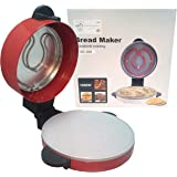 ARTC Pizza and Arabic Bread Maker Red Color With 1 year Warranty (30cm)