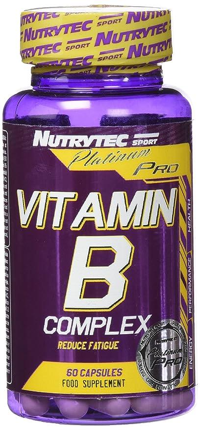 Nutrytec Vitamin B-Complex Platinum - 60 Cápsulas