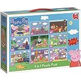 Peppa Pig 9-in-1 Bumper Pack Puzzle