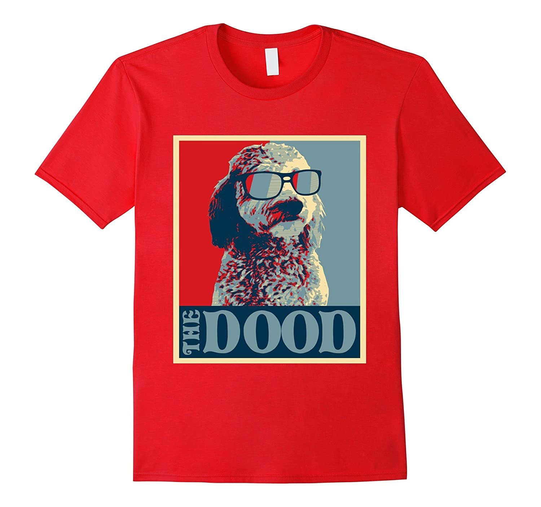 The Dood Abides >> Goldendoodle The Dood T-Shirt-CL – Colamaga