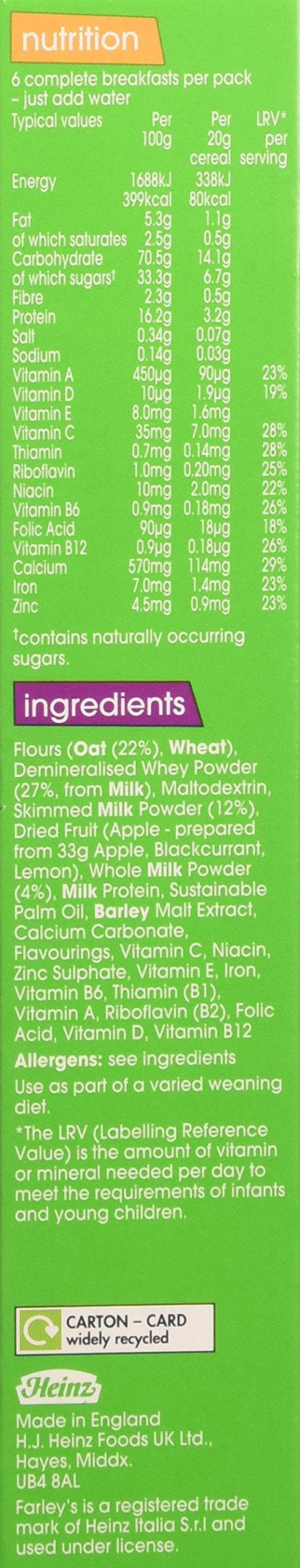 Heinz Breakfast Oat & Apple Cereal