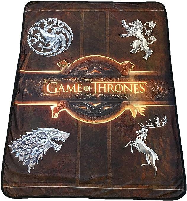 Amazon Com Rabbit Tanaka Game Of Thrones Logo Soft Fleece Blanket