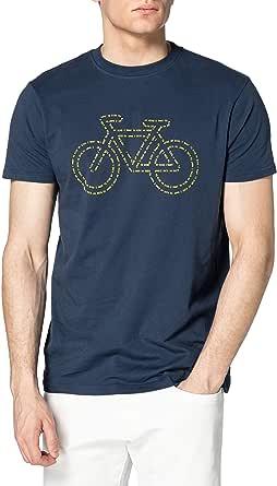 Springfield Camiseta Regular Bici Reconsider Hombre