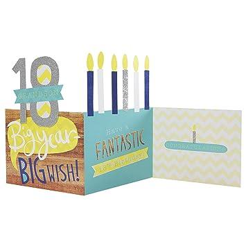Hallmark 18th Birthday Card For Grandson Big Year Big Wish