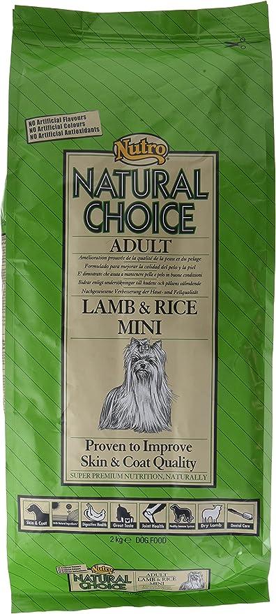 NUTRO natural Choice LAMB & RICE MINI - Comida para perros adultos ...