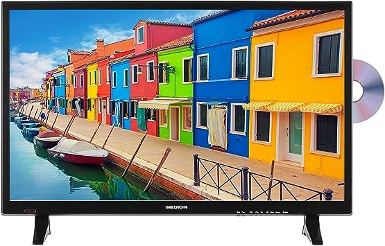 Medion p12311 69,9 cm (27,5 Pulgadas HD) televisor (sintonizador Triple, DVB-T2 HD, Reproductor de DVD, Reproductor Multimedia, HDMI, Ci +, USB): Amazon.es: Electrónica
