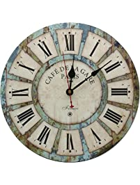 Large Decorative Wall Clock,Silent Wall Clock Non Ticking For Living Room  Kitchen Bathroom Bedroom