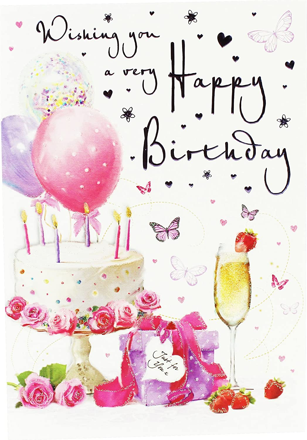 Birthday Wishes Card For Girl - greeting cards near me