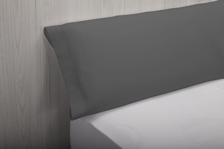 Fodera di cuscino Tutte le misure 40 x 75 cm 100/% cotone colore arancione Pikolin Home