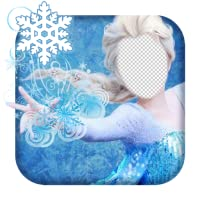 Ice Queen Dress Photo Montage