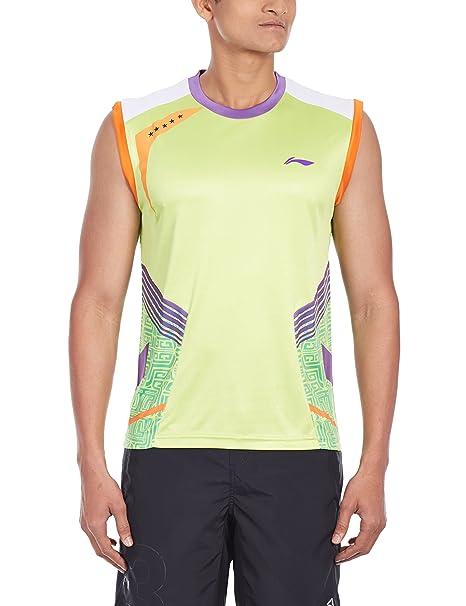 004594d6ad11e8 Buy Li-Ning AVSH077-6 Sleeveless Badminton T-Shirt