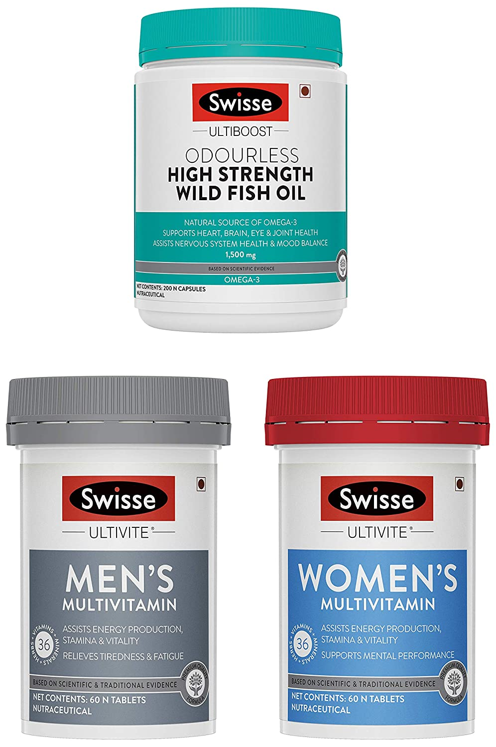 Swisse India Multivitamin tablets upto 25% off + extra coupon @ Amazon