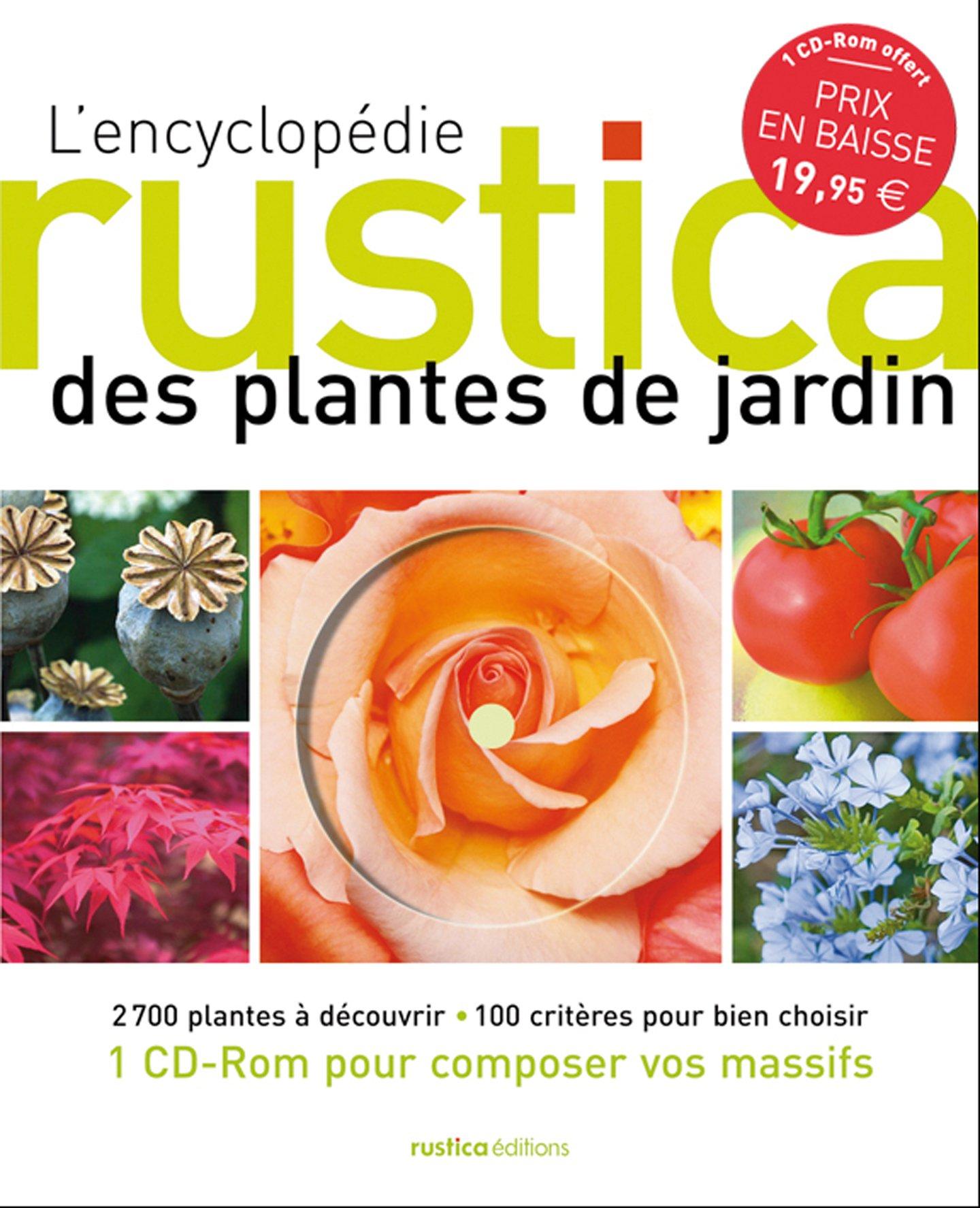 Amazon L encyclopé Rustica des plantes de jardin 1Cédérom