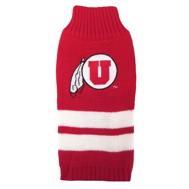 Medium Pets First Collegiate Utah Utes Pet Sweater, Medium