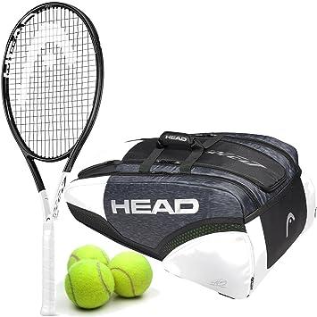 Amazon.com: HEAD Graphene 360 Speed Pro Midplus - Pala de ...