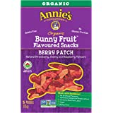 Annie's Homegrown Organic Berry Patch Bunny Fruit Snacks, 5-Count, 115 Gram
