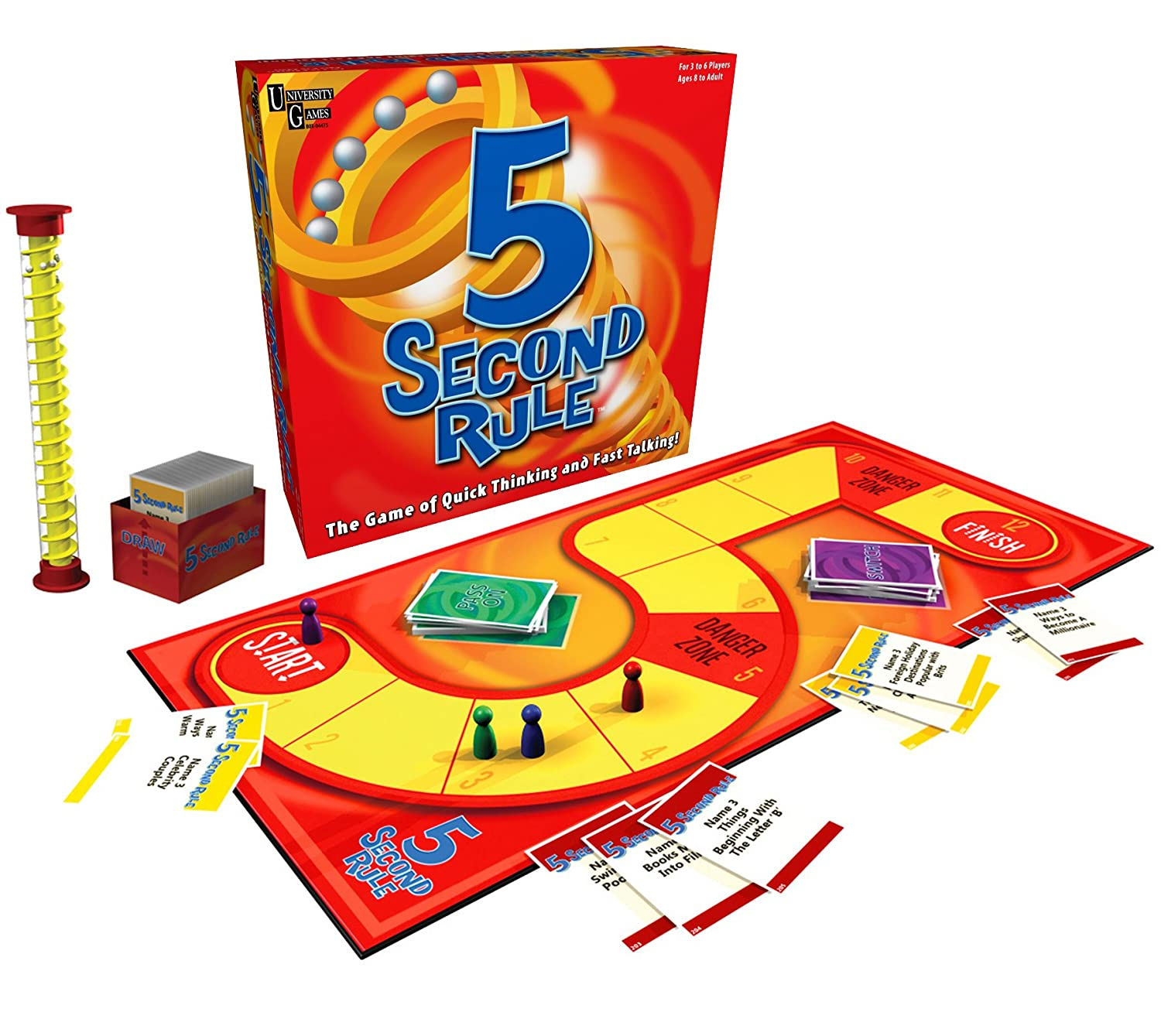 University Games 5 Second Rule the Game of Quick Thinking and Fast