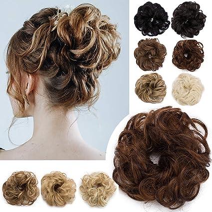 acconciature con capelli finti