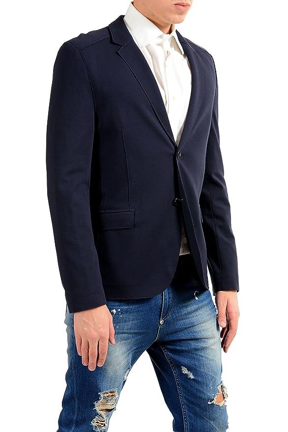 Amazon.com: hugo boss Ascon para hombre Blue Stretch dos ...