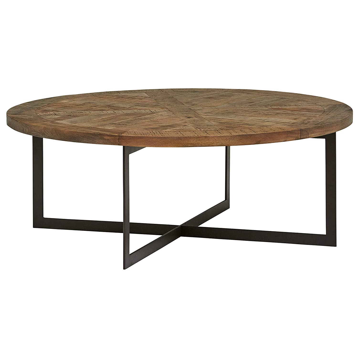 Round Coffee Table Metal 1