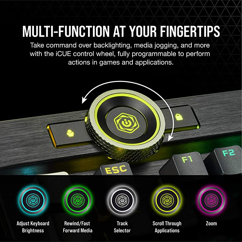 Corsair K100 RGB Mechanical Gaming Keyboard 1