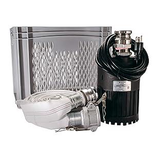 Pentair Flotec Submersible Utility Pump Emergency Flood Kit Pro FPUFKP40 4/10-HP, 115-Volt