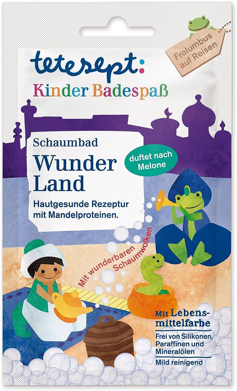 tetesept Kinder Badespa/ß Schaumbad Wunder Land 15er Pack 15 x 40 ml