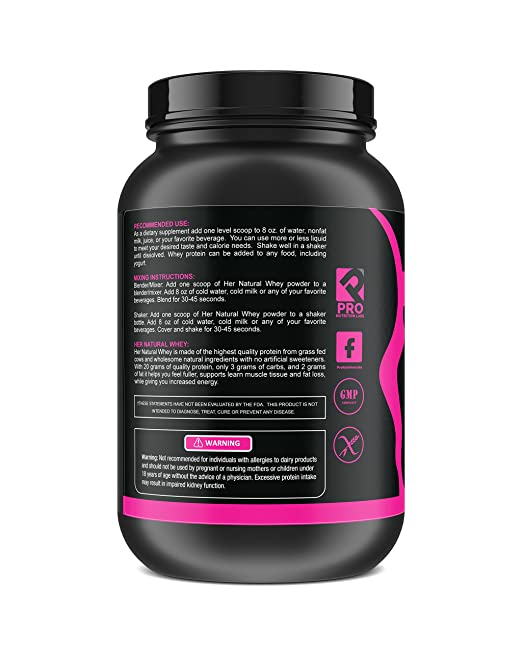 Amazon Protein Powder For Women Her Natural Whey Protein