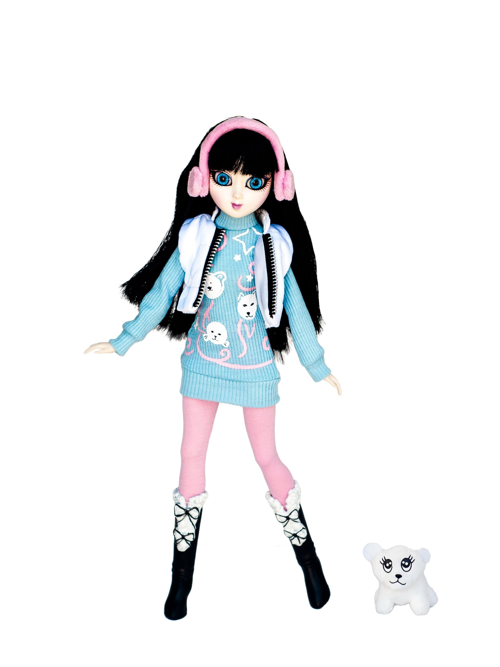 Zeenie Dollz Kazumi - Protector of Polar Regions - Eco Warrior