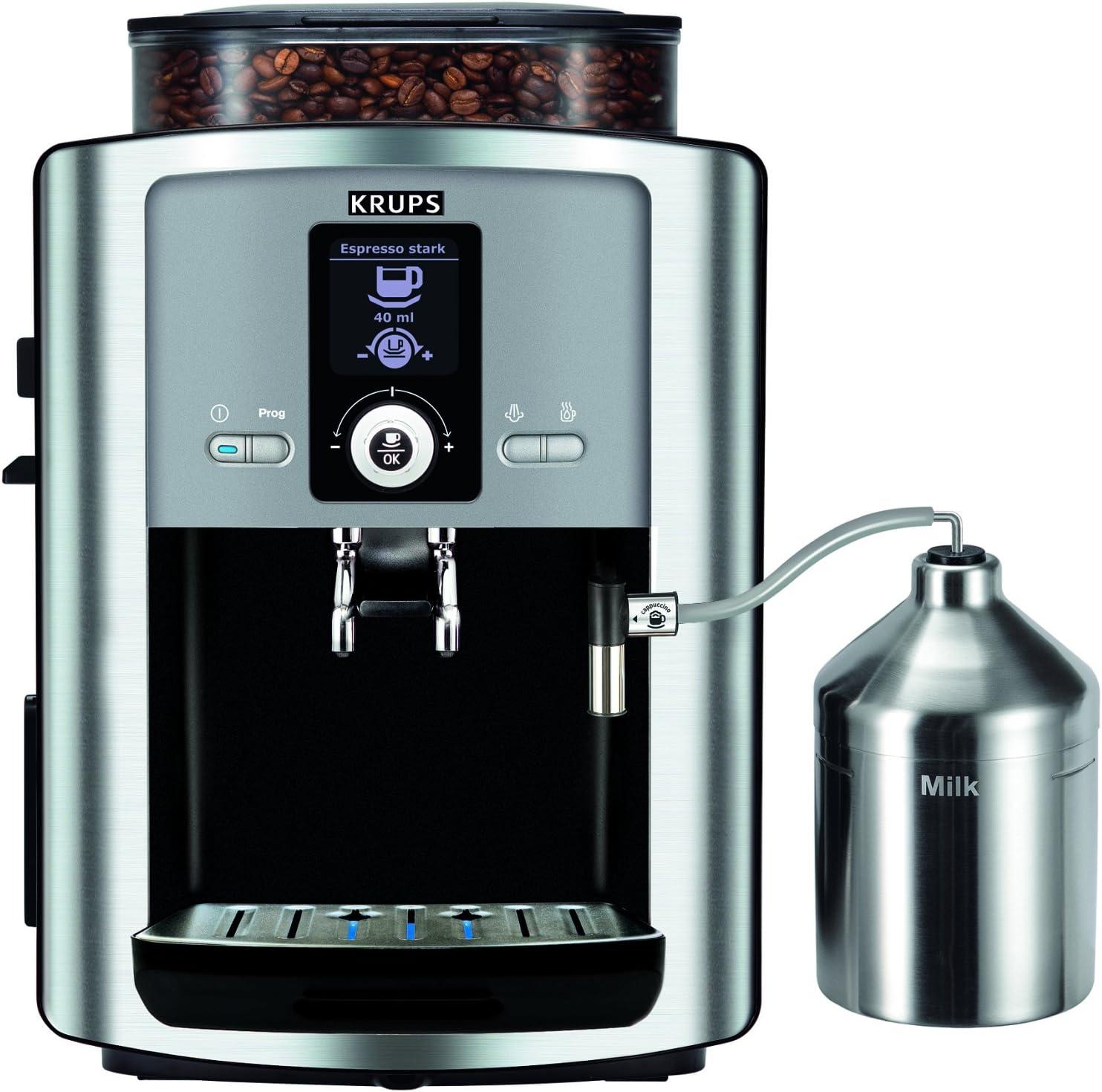 Krups EA8050 - Cafetera (Independiente, Totalmente automática ...