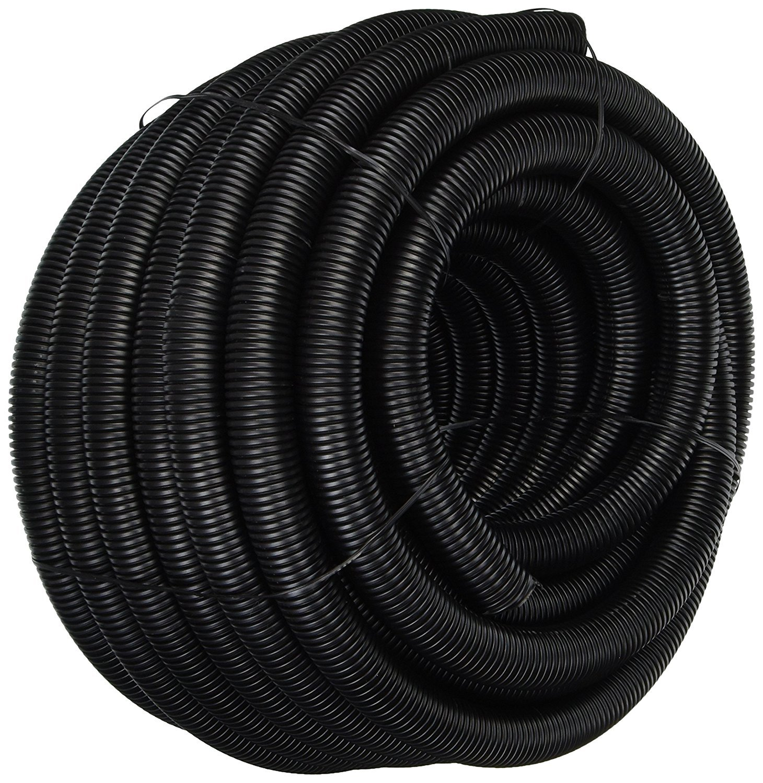 Polyethylene - 20FT 1//4 Split Wire Loom Tubing White