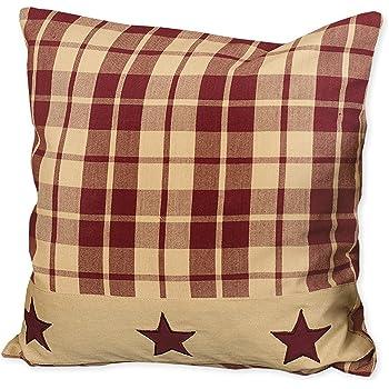 Amazon Park Designs Burlap Star Decorative Pillow Home Kitchen Mesmerizing Burlap Star Decorative Pillow