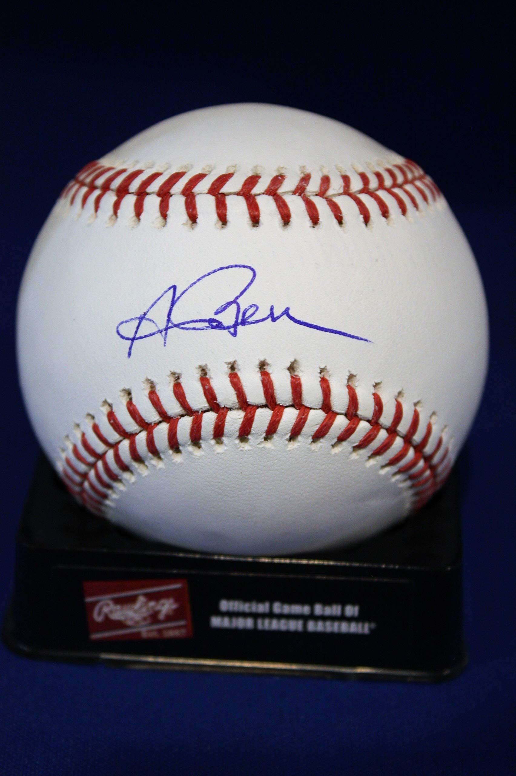 Autographed Andrew Benintendi Official Rawlings Major League Baseball with JSA COA