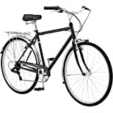 Schwinn Wayfarer Adult Bike Hybrid Retro-Styled Cruiser, 16-Inch/Small Steel Step-Through Frame, 7-Speed Drivetrain, Rear Rac