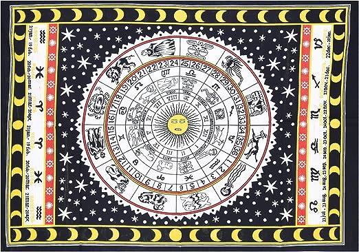 Amazon.com: Horóscopo Tapestry Póster zodiaco Astrología ...