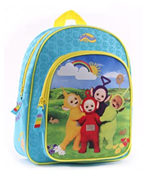 Teletubbies ChildrenChildren s Backpack turquoise turquoise  Amazon ... 75b15a4736