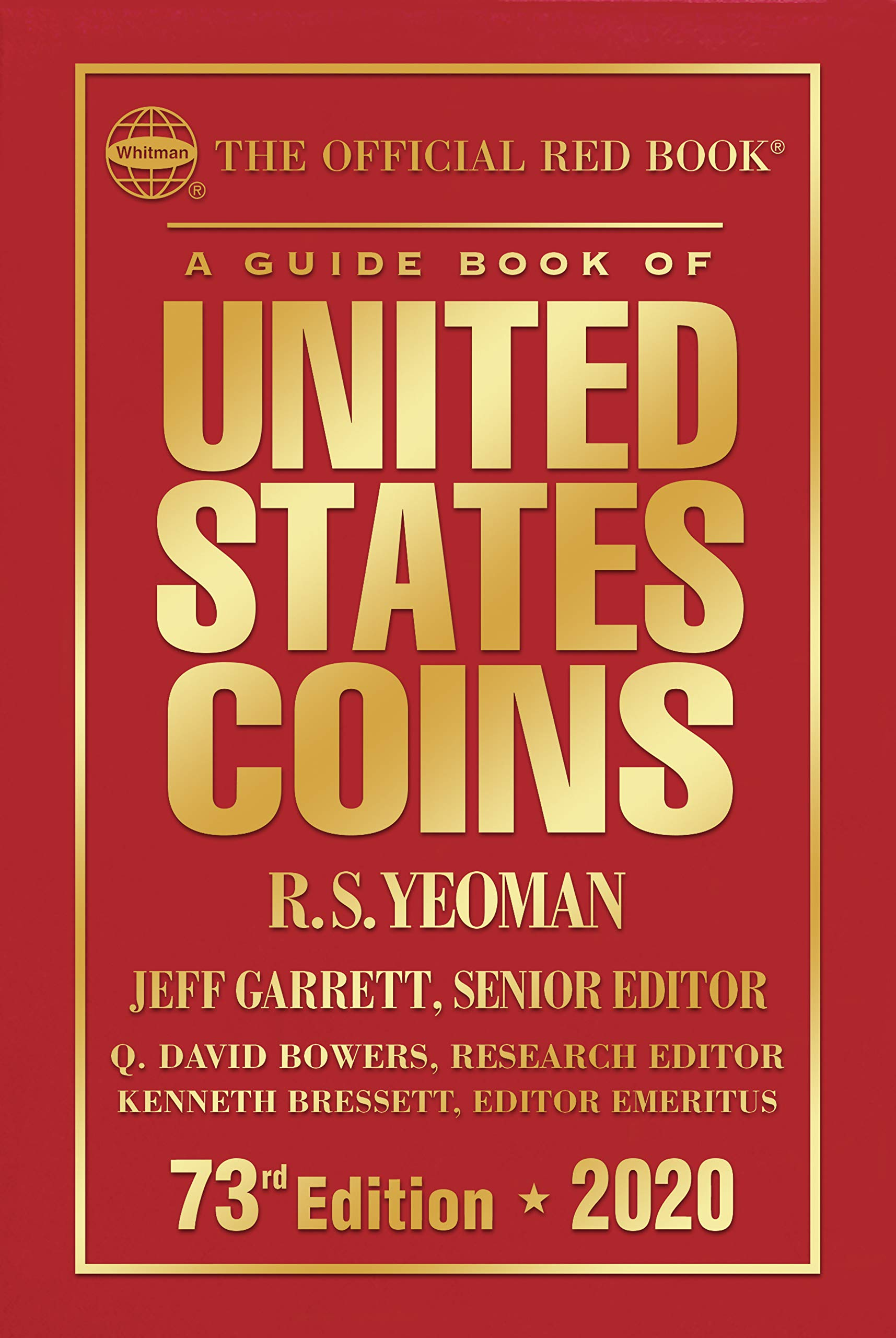 A Guide Book Of United States Coins 2020  The Official Red Book  English Edition