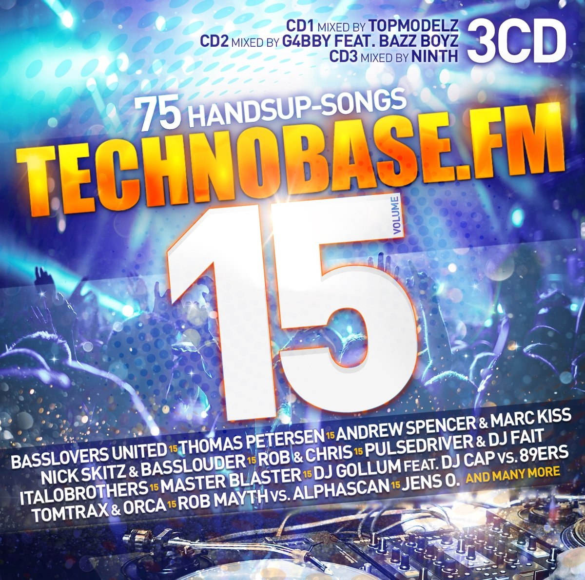 Various Artists-TechnoBase.FM Vol. 15