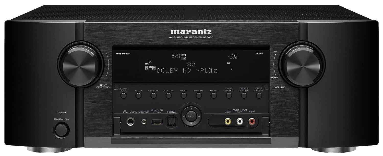 Amazon.com: Marantz SR6005 Audio Video Receiver (Black) (Discontinued by  Manufacturer): Electronics