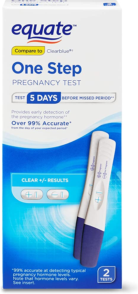 Amazon Com Always Turns Positive Real Working Pregnancy 2 Tests