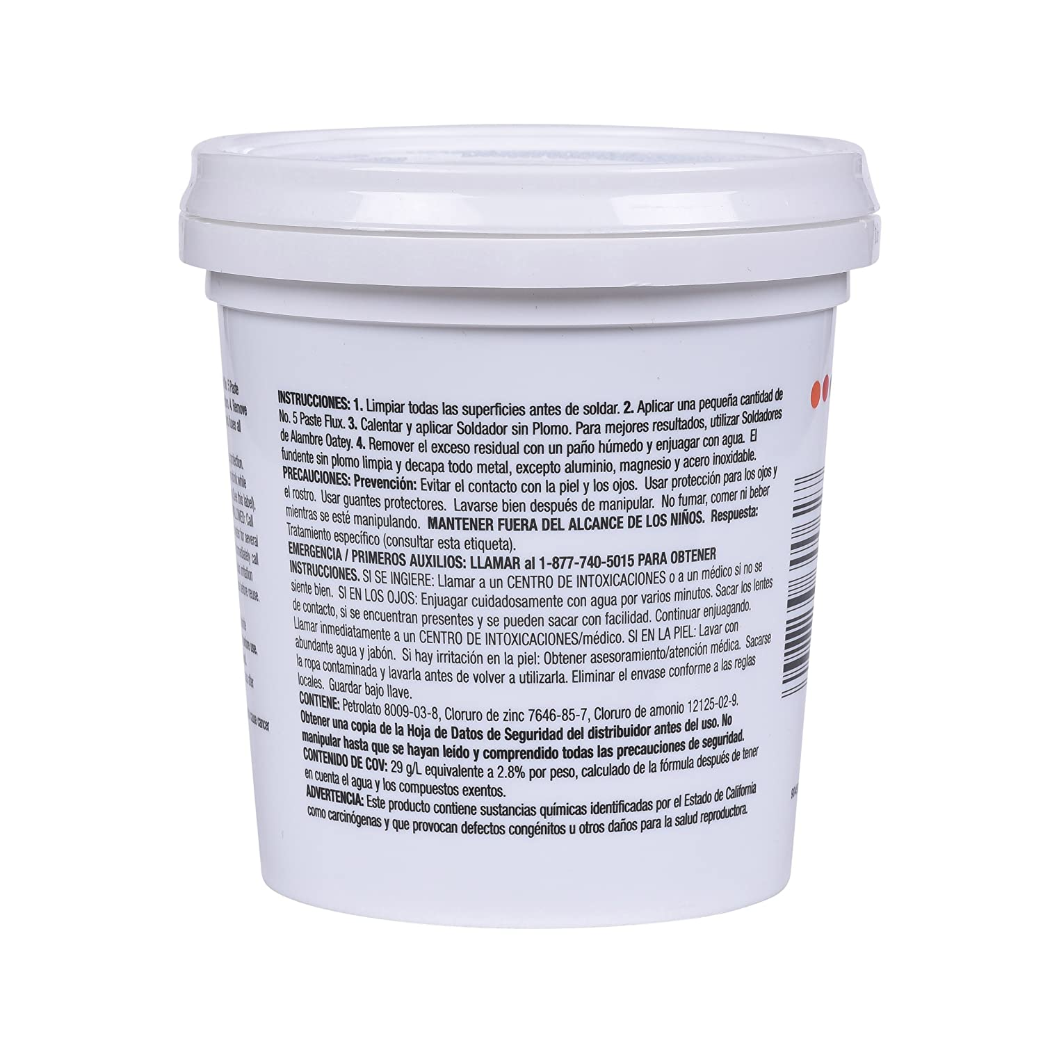 Oatey 30062 No. 5 Paste Flux, Hot Weather 16-Ounce - Power Soldering Accessories - Amazon.com